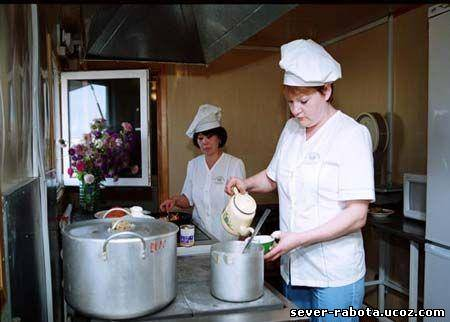 ребенка повар вакансии спб вахта второй части